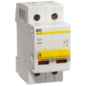 Выключатель нагрузки 2Р 32А IEK (ВН)