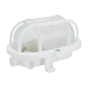 Светильник НПП овал ПСХ ЕВРО с решеткой IP54 60W (03-60-003)