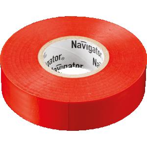 Изолента ПВХ 15мм красная (рул 20м) Navigator