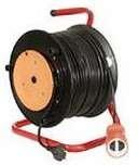 Удлинитель на катушке 1х50м с выносной розеткой ПВС 2х0.75
