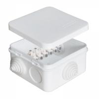 Коробка распределительная ОП 75х75х45 с клеммами КЭМ IP54