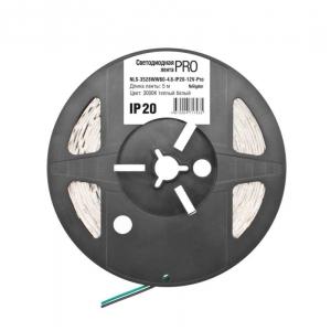 Лента светодиодная (ЛС) 4.8W/м 60LED IP65 Белый