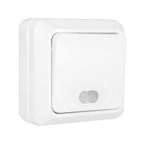 Олимп (Universal) Выключатель 1-кл. с подсветкой ОП