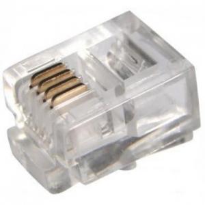 Телефонная вилка 6P-4C (джек)