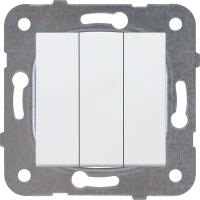 Уют (Белтиз) Выключатель 3-кл. (C05 10-552) СП