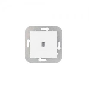 Уют (Белтиз) Выключатель 1-кл. с подсветкой (C1 10-556) СП