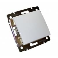 Валена (Легранд) Выключатель 1-кл. белый СП (механизм)