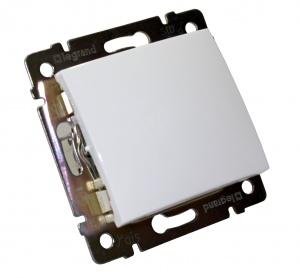 Валена (Легранд) Выключатель 1-кл. перекрестный белый СП (механизм)