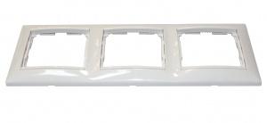 Валена (Легранд) Рамка 3-м. горизонтальная белый