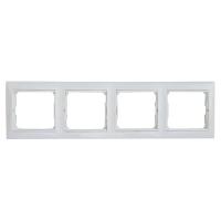 Валена (Легранд) Рамка 4-м. горизонтальная белая