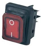 Выключатель RWB-502 красный 16А IP65