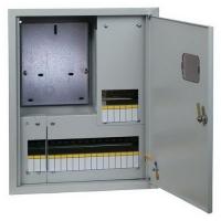 Корпус (щит учета) металлический ЩУРВ 3/24 (550x450x160) IP31 EKF