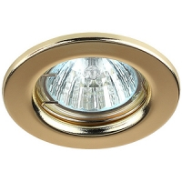 Светильник галогенный ST1 золото