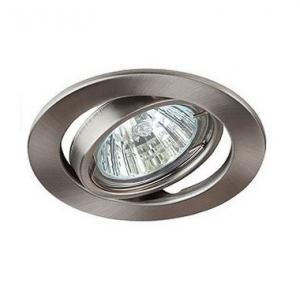 Светильник галогенный ST2A поворотный никель