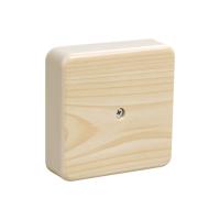 Коробка распределительная ОП 75х75х20 IP 20 сосна IEK