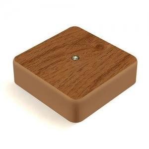 Коробка распределительная ОП 75х75х20 IP 20 дуб IEK