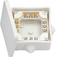 Коробка распределительная ОП 80х80х43.5 (КМ-222) IP44 Белтиз
