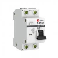 Автомат дифференциальный 2Р 25А 30мА EKF (диф)