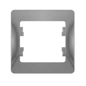 Глосса (Шнайдер) Рамка 1-м. алюминий