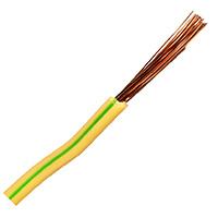 Провод ПВ 3-4,0 желто-зеленый ГОСТ медный плетеный