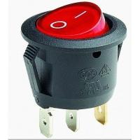 Выключатель RWB-214 красный 6А IP20