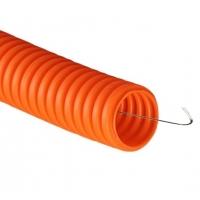 Труба полиэтиленовая гофрированая ПНД 16мм ДКС