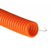 Труба полиэтиленовая гофрированая ПНД 20мм ДКС