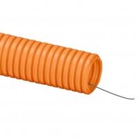 Труба полиэтиленовая гофрированая ПНД 32мм ДКС