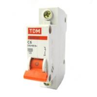Выключатель автоматический 1Р 06А TDM