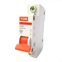 Выключатель автоматический 1Р 40А TDM