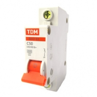 Выключатель автоматический 1Р 50А TDM