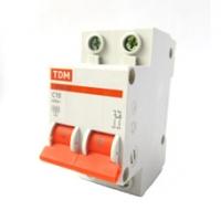 Выключатель автоматический 2Р 10А TDM