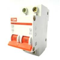 Выключатель автоматический 2Р 32А TDM