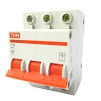 Выключатель автоматический 3Р 10A TDM