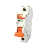 Выключатель автоматический 1Р 02А TDM
