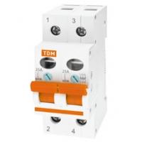 Выключатель нагрузки 2Р 25А TDM (ВН)