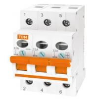 Выключатель нагрузки 3Р 63А TDM (ВН)