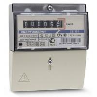 Счетчик электронный 1ф СЕ 101 R5.1 5-60А Энергомера RU