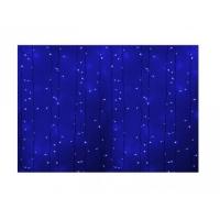 Гирлянда светодиодная уличная Дождь ПЛЕЙ-ЛАЙТ 2х1.5м 360LED син. 22W IP44