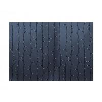 Гирлянда светодиодная уличная Дождь ПЛЕЙ-ЛАЙТ 2х1.5м 360LED бел. 22W IP44