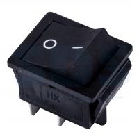 Выключатель RWB-508 черный 15А IP20