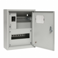 Корпус (щит учета) металлический ЩУРН 1/12 (400х300х140) IP31 EKF