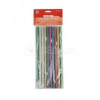 Клеевые стержни 11,2 мм x 270 мм Rexant цветной с блестками (10 шт)