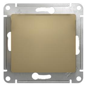 Глосса (Шнайдер) Выключатель 1-кл. перекрестный титан СП (механизм)
