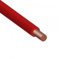 Провод ПВ 1-4,0 красный ГОСТ медный монолитный