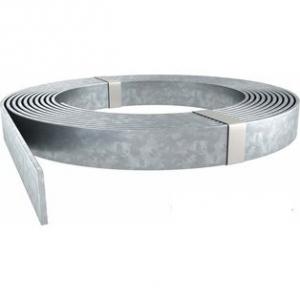 Полоса плоская (шина) 25х3мм оцинкованная