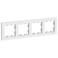 Атлас Дизайн (Шнайдер) Рамка 4-м. белый