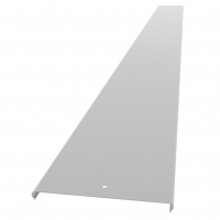 Крышка для лотка с заземлением 100 толщина 0,55мм (кратность 3м)