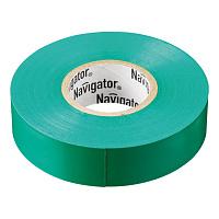 Изолента ПВХ 19мм зеленая (рул 20м) Navigator