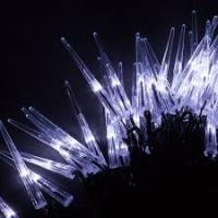 Гирлянда светодиодная Сосульки 5.6м  20LED белый 1.2W IP20